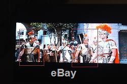 1925 Silent Movie 1959 Ben Hur Quo Vadis movie prop Roman legionary brass armor