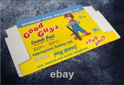 1988 Child's Play Good Guys Chucky Water Sub-Machine Gun Production Made Box