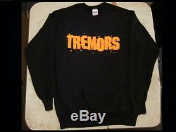 1990 Original TREMORS FILM CREW SWEATSHIRT Universal Movie Studios Kevin Bacon