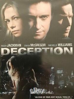 2008 ORIGINAL white shirt worn by HUGH JACKMAN used in the movie DECEPTION w COA