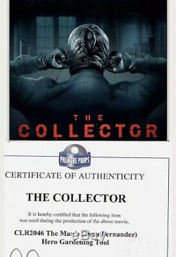 2009 The Collector Film Mans (killer) Hero Prop Tool Screen Used Signed Coa