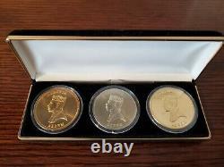 3-Coin Movie Prop Set Eddie Murphy Coming to America Zamunda Coins 1988 Film