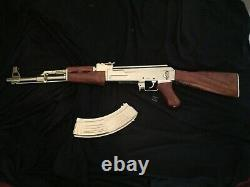 AK 47 GOLD Movie Prop Collectable