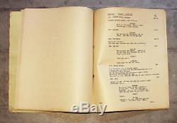 ALIEN Movie Production Script 1979 RARE scifi prop Sigourney Weaver Ridley Scott