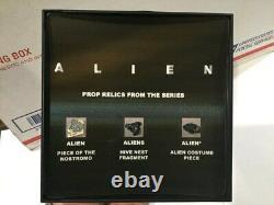 ALIEN Series Movie Prop display Alien 1979 Aliens 1986 Alien 3 1992 screen used