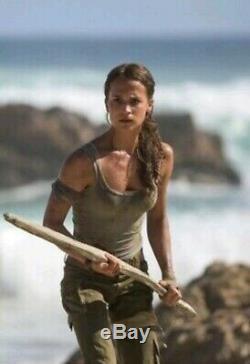 Alicia Vikander Screen Worn Stunt Costume Lara Croft Tomb Raider 2018 Movie Prop