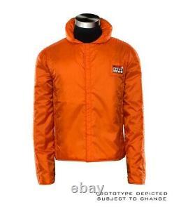 Anovos Star Wars Rebel Pilot Orange Flight Jacket Replica Movie Prop Costume (m)