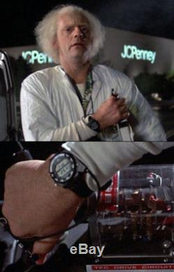 Back To The Future Doc Brown's SCREEN USED Seiko A826 Watch Movie Prop Star Wars