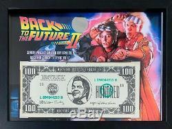 Back to the Future Prop $100 Biff Bill (BttF 2 Original Movie Prop)