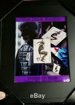 Batman The Dark Knight Production Made Joker Hangman Card 2008 Movie Prop