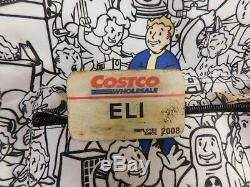 Book of Eli Costco Name tag Movie prop w CoA Denzel apocalypse