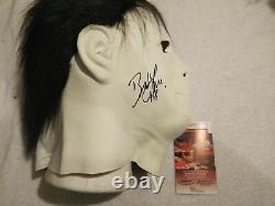 Brad Loree SIGNED AUTO MICHAEL MYERS PROP HALLOWEEN FACE MASKS WithCOA JSA