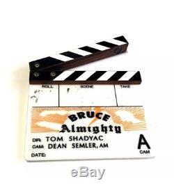 Bruce Almighty Mini Clapper Board Slate Jim Carrey Screen Used Movie Prop