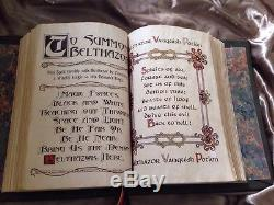 CHARMED BOOK OF SHADOWSREPLICA! PROP! Not Dvd Set! TV WITCHESWICCA EASTER