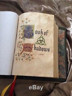 CHARMED BOOK OF SHADOWSREPLICA! PROP! Not Dvd Set! TV WITCHESWICCA Spells