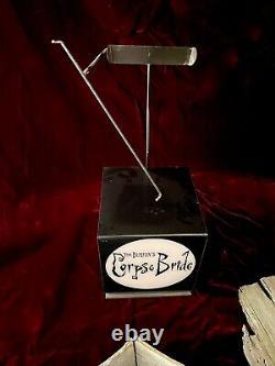 CORPSE BRIDE (2005) Miniature Coffin ORIGINAL Screen Used Prop TIM BURTON