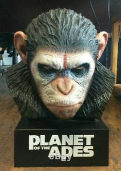 Caesar's Warrior Bust Planet of the Apes Bust Only, No Movie