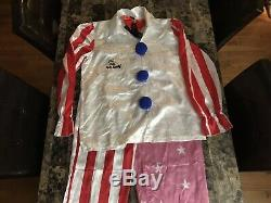 Captain Spaulding Rare Signed Costume Prop Sid Haig House Of 1000 Corpses Movie