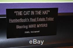 Cat in the Hat SCREEN USED MOVIE PROP Mike Myers AUTOGRAPH SIGNED DVD COA Doll