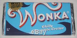 Chilly Choclate Creme Screen Used Wonka Bar Prop Charlie & The Chocolate Factory