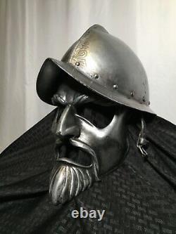Chronicles of Narnia Movie Used Telmarine Helmet and Mask