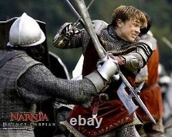Chronicles of Narnia Prince Caspian Movie Props Telmarine Shield + Halberd Spear