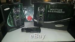 Collectors Set of The Original MATRIX Reloaded Samsung Phone SPH-N270 Movie Prop