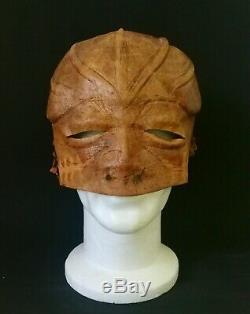 Conan The Barbarian Warrior's Orgy Scene Leather Mask Original Movie Prop Coa
