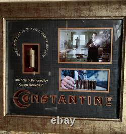 Constantine Screen Used Framed Holy Shell Movie Prop With COA