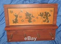 DISNEY Original Cast Member PropALL STAR MOVIE RESORT Coat Rack (Mickey/Pluto)
