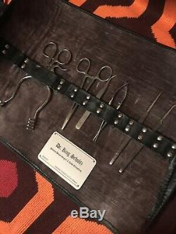 Django Unchained Dr. King Schultz Dental Tools & Card Props (Screen Used Movie)