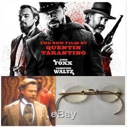 Django Unchained Leonide Moguy Glasses Tarantino Film Prop Wardrobe COA