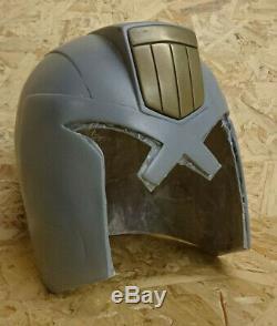 Dredd 2012 Helmet DIY prop! CAST FROM RESTORED ORIGINAL PRODUCTION HELMET