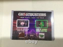 EXTREMELY RARE Ghostbusters 1984 MOVIE PROP DISPLAY Slimer Stay-Puft screen used