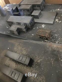 Ed Wood Movie 1994 Prop Miniature Buildings Screen Used Johnny Depp