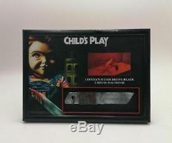 Extremely Rare! Child's Play Chucky Original Screen Used Drone Blade Movie Prop