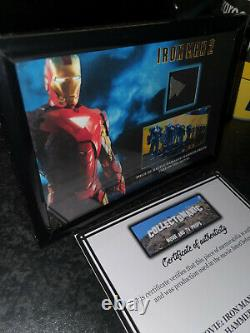 Extremely Rare! Iron Man 2 Original Screen Used Piece of Hammer Drone Movie Prop