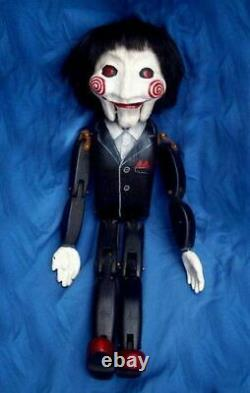 Extremely Rare! Saw IV Original Screen Used Bobby Puppet Hair Lock Movie Prop
