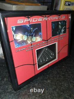 Extremely Rare! Spiderman 3 Original Harry Goblin Blade Component Movie Prop