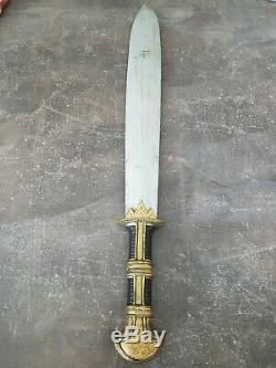 Extremely Rare! The Mummy Returns Original Screen Used Warrior Sword Movie Prop