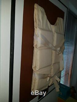 Extremely Rare! Titanic The Movie 1997 Original Screen Used Life Vest Framed