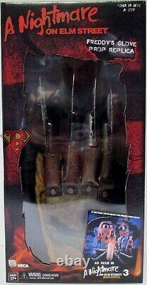 FREDDY KRUEGER GLOVE A Nightmare on Elm St 3 1987 Movie Prop Replica Neca 2020