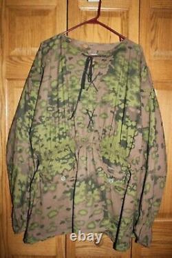 FURY used film prop costume German WW2 Jacket Smock with COA Brad Pitt