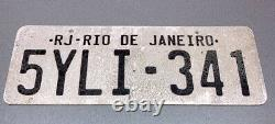 Fast and Furious Fast Five Dom Vault Scene License Plate SCREEN USED PROP