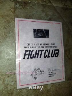 Fight Club BIG Soap HERO movie prop. ONLY ONE IN THE WORLD NOT OWNED BY STUDIO