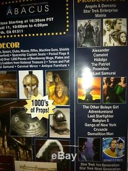 Gangs Of New York movie memorabilia screen used by Cameron Diaz