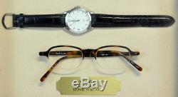 Genuine Neve Cambell Scream 3 Glasses & Rolex Wrist Watch Movie Props With COA