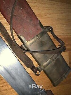 Gladiator ORIGINAL PRODUCTION USED INFANTRY SWORD SCABBARD Used In Film
