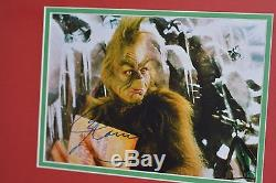 Grinch Jim Carrey Movie Prop COA SCREEN USED Costume Carrey Signed Christmas