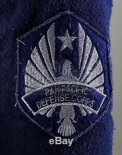 Guillermo Del Toro Pacific Rim PPDC Cadet Uniform screen used movie prop costume
